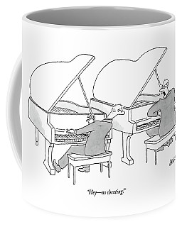 Two Concert Pianists Play Side-by-side Coffee Mug