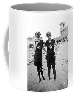 Two Girls At Venice Beach Coffee Mug