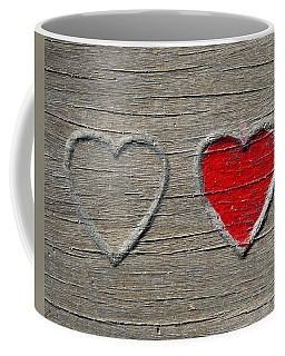 Two Hearts Coffee Mug