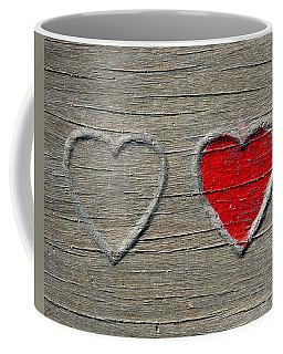 Two Hearts Coffee Mug by Brooke T Ryan