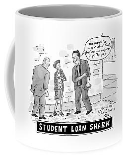Two Henchman -- Student Loan Sharks -- Approach Coffee Mug