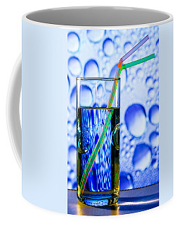 Coffee Mug featuring the photograph Two In Bubbles by Edgar Laureano