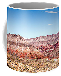 Two Layered Mountains Coffee Mug