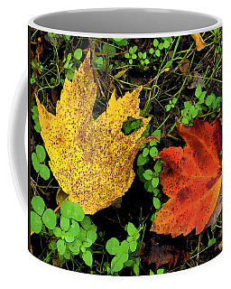 Two Leaves Coffee Mug