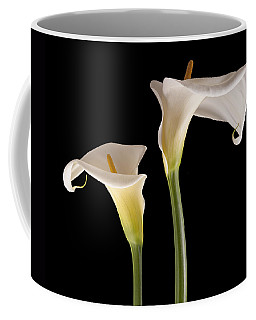 Two Lilies Coffee Mug