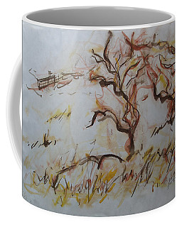 Two Olive Trees Coffee Mug
