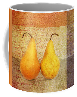 Two Pears Coffee Mug