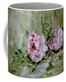 Two Roses Coffee Mug