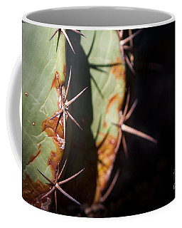 Two Shades Of Cactus Coffee Mug