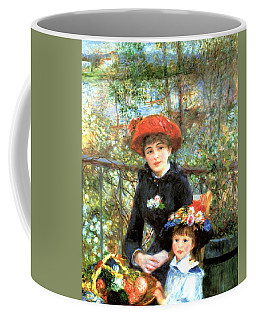 Two Sisters On The Terrace Coffee Mug