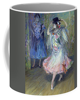 Two Spanish Dancers Pastel On Paper Coffee Mug