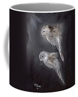 Coffee Mug featuring the painting Two Spirits In The Night by Barbie Batson