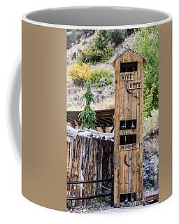 Two-story Outhouse Coffee Mug