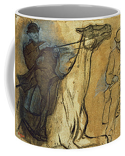 Two Studies Of Riders Coffee Mug