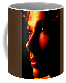 Two Tone Portrait Coffee Mug