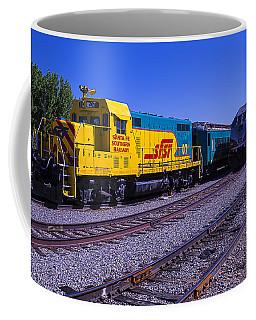 Two Trains Coffee Mug