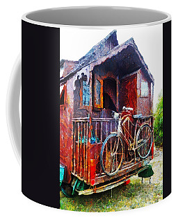 Two Wheels On My Wagon Coffee Mug