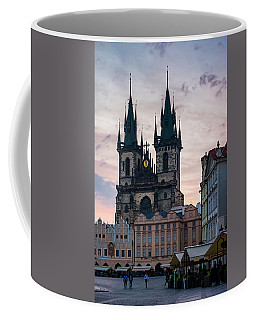 Tyn Cathedral On Old Town Square Coffee Mug