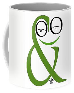 Typographical Frog Coffee Mug