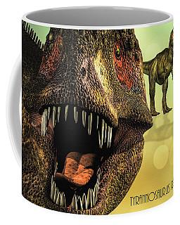 Tyrannosaurus Rex 4 Coffee Mug by Bob Orsillo