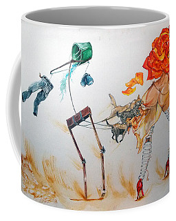 Tyrants Of Desire Coffee Mug by Lazaro Hurtado