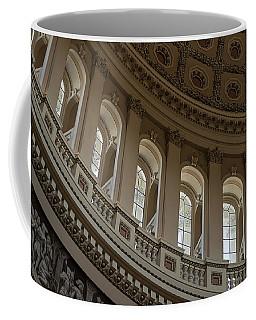 U S Capitol Dome Coffee Mug