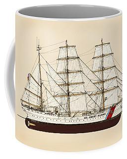 U. S. Coast Guard Cutter Eagle - Color Coffee Mug
