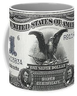U. S. Silver Certificate 1899 Coffee Mug