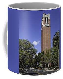 Uf Century Tower And Newell Drive Coffee Mug by Lynn Palmer