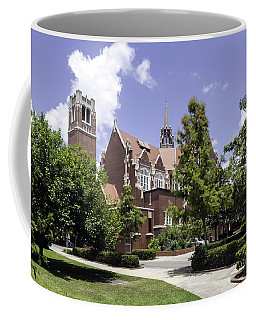 Uf University Auditorium And Century Tower Coffee Mug by Lynn Palmer