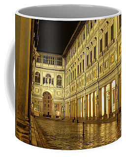 Uffizi Gallery Florence Italy Coffee Mug by Ryan Fox