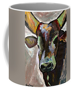 Ugandan Long Horn Cow Coffee Mug