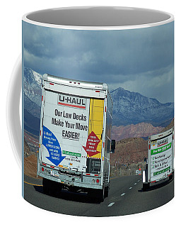 Uhaul On The Move Coffee Mug