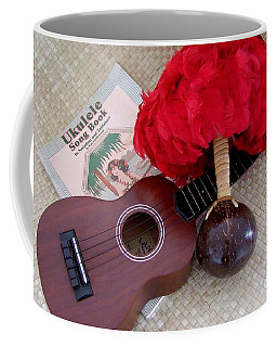 Ukulele Ipu And Songbook Coffee Mug