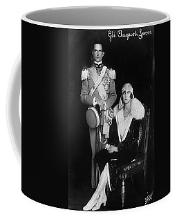 Coffee Mug featuring the photograph Umberto II And Marie Jose by Granger