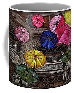 Umbrella Fun Coffee Mug by Joan  Minchak