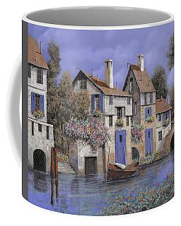 Un Borgo Tutto Blu Coffee Mug
