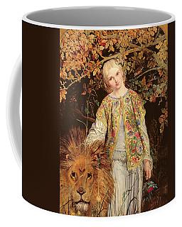 Una And The Lion, Exh. 1860 Coffee Mug