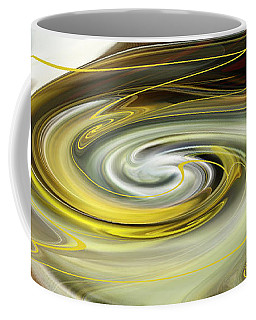 Unbarred Space Abstract Coffee Mug by rd Erickson