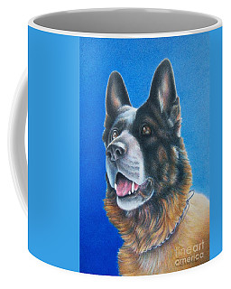 Coffee Mug featuring the painting Unconditional by Pamela Clements