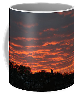 Under A Blood Red Sky Coffee Mug by Neal Eslinger