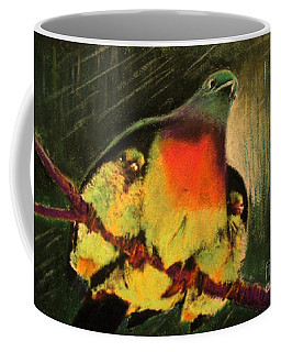 Under His Wings Coffee Mug by Hazel Holland