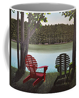 Under Muskoka Trees Coffee Mug by Kenneth M  Kirsch