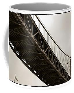 Under The Bay Bridge Coffee Mug