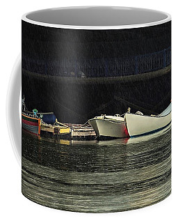 Coffee Mug featuring the photograph Under The Bridge by Laura Ragland