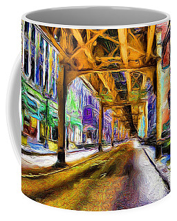 Under The El - 20 Coffee Mug