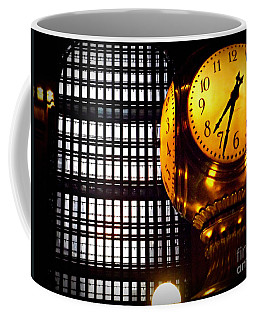Under The Famous Clock Coffee Mug