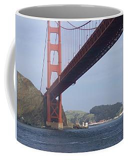 The Golden Gate Bridge San Francisco California Scenic Photography - Ai P. Nilson Coffee Mug