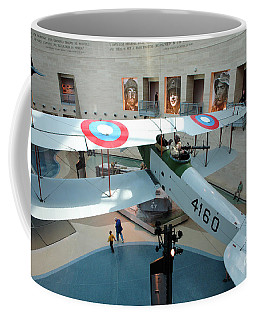 Under The Jenny At The Marine Corps Museum Coffee Mug