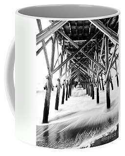 Under The Pier Folly Beach Coffee Mug